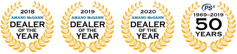 Amano McGann Dealer of the Year PSX